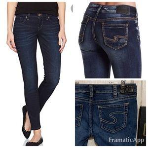 Silver Jeans skinny suki  31